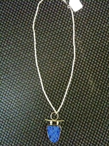 Azurite Necklace             $74 Double Dip Gallery