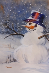 Charlie the Fancy Snowman.